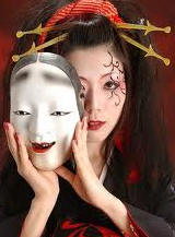 маска японского театра НО-О